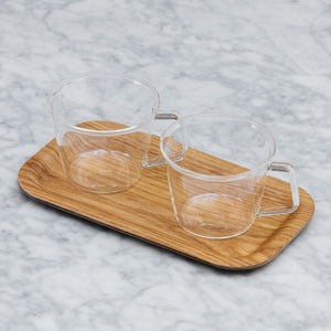 Kinto Non-slip Slim Tray Willow