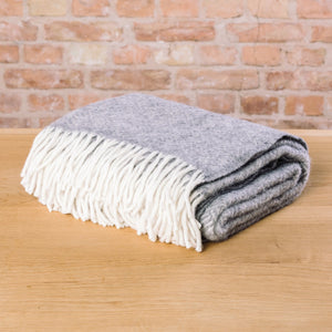 Klippan Samba Wool Blanket Grey