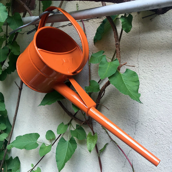 Labour & Wait Indoor Watering Can Orange