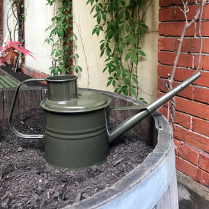 Labour & Wait Watering Can Green