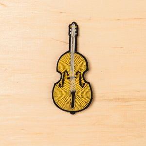 Macon & Lesquoy Cello Brooch