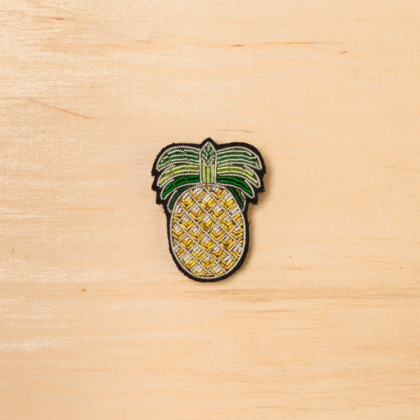 Macon & Lesquoy Pineapple Brooch