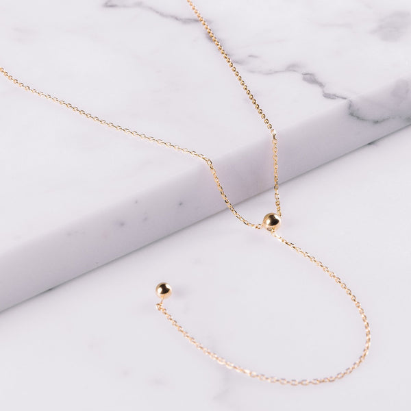 Maria Black Corvi necklace Gold