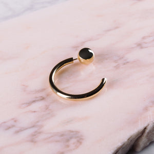 Maria Black Juno Earring Gold