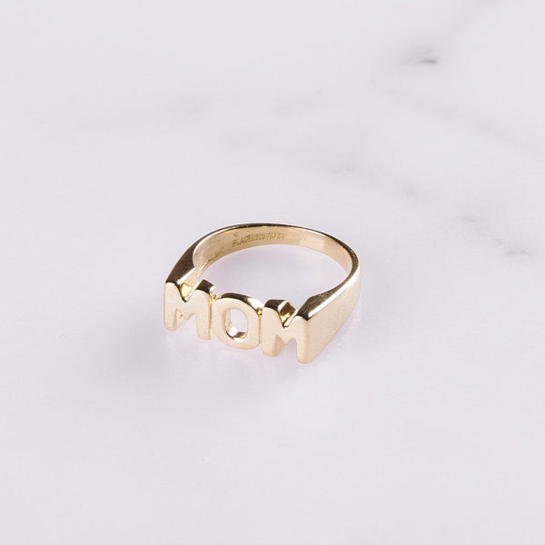 Maria Black Mom Ring
