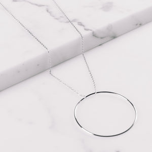 Maria Black Monocle Necklace