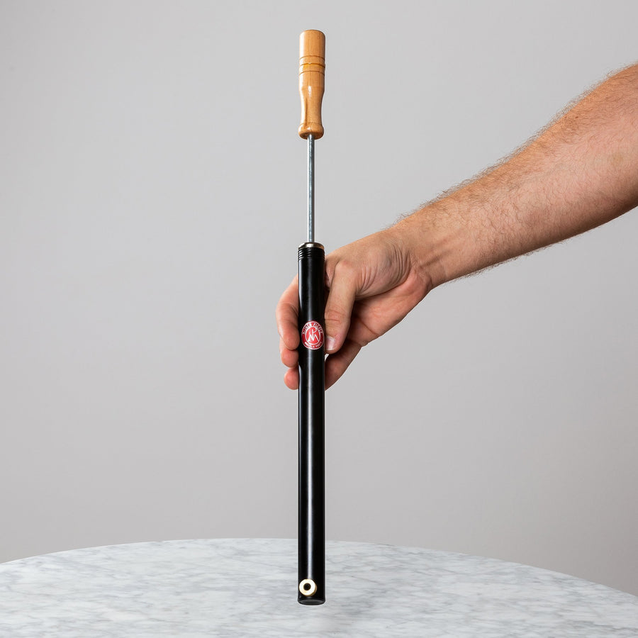 Hand Pump With Wooden Handle