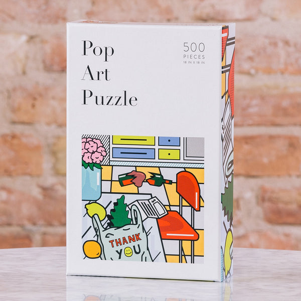 MOX Studio Pop Art 500-Piece Puzzle