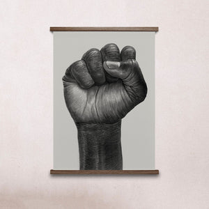 Paper Collective Raised Fist Print