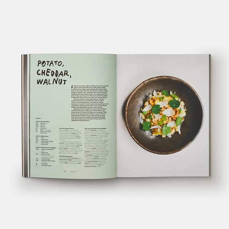 Phaidon A Very Serious Cookbook: Contra Wildair