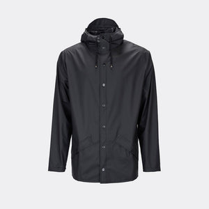 Rains Jacket Black / XSS/XS