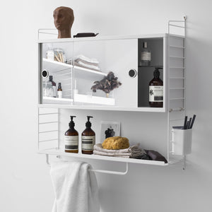 String Rail for metal shelf 1-pack