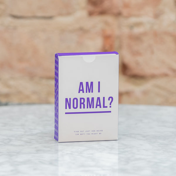 The School of Life Am I Normal? Card Game