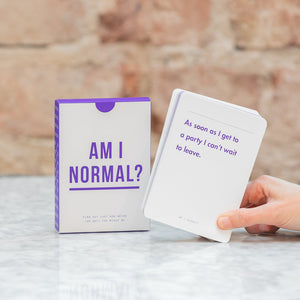 The School of Life Am I Normal? Card Game English