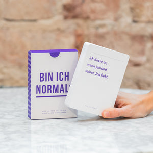 The School of Life Am I Normal? Card Game German