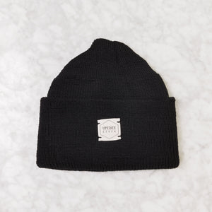 Upstate Stock Watch Cap Black wool