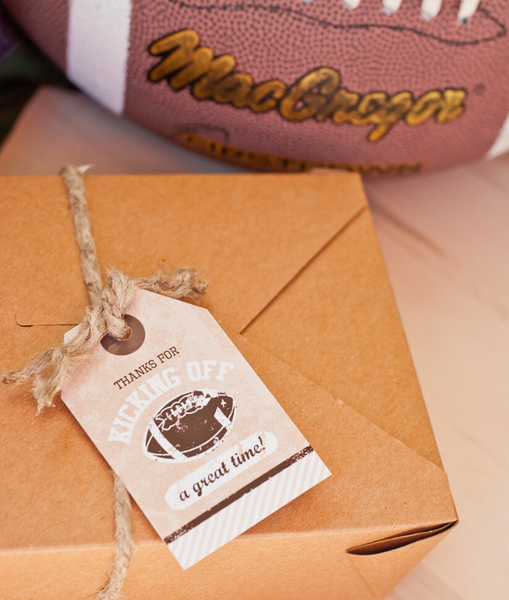 football party gift ideas