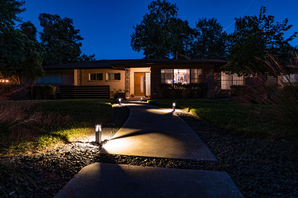 outdoor home lighting security