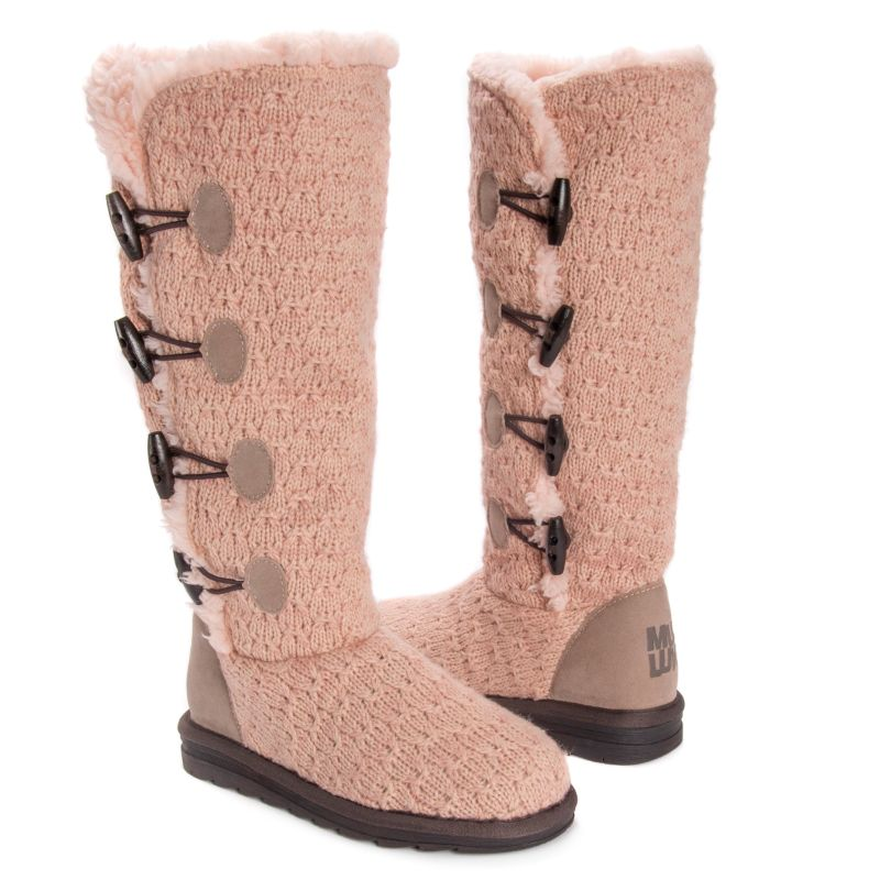 Women's Felicity Boots by Muk Luks-Blush-6-Daily Steals