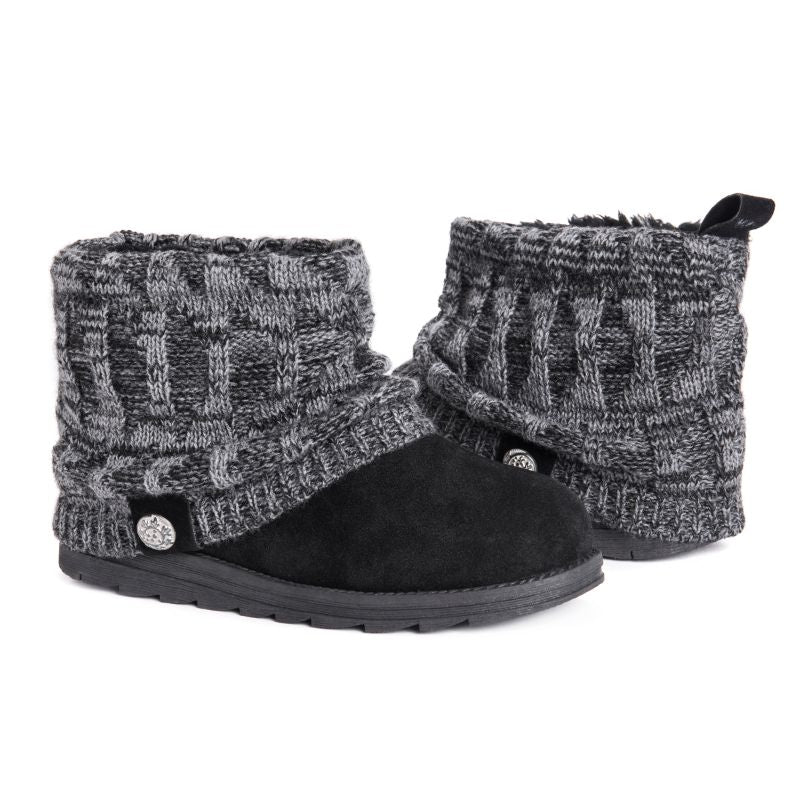 Women's Patti Boots by Muk Luks-Black-9-Daily Steals