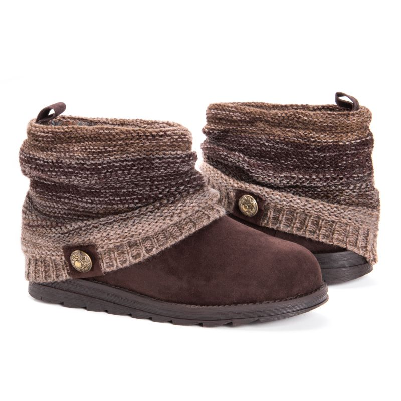 Women's Patti Boots by Muk Luks-Brown-6-Daily Steals