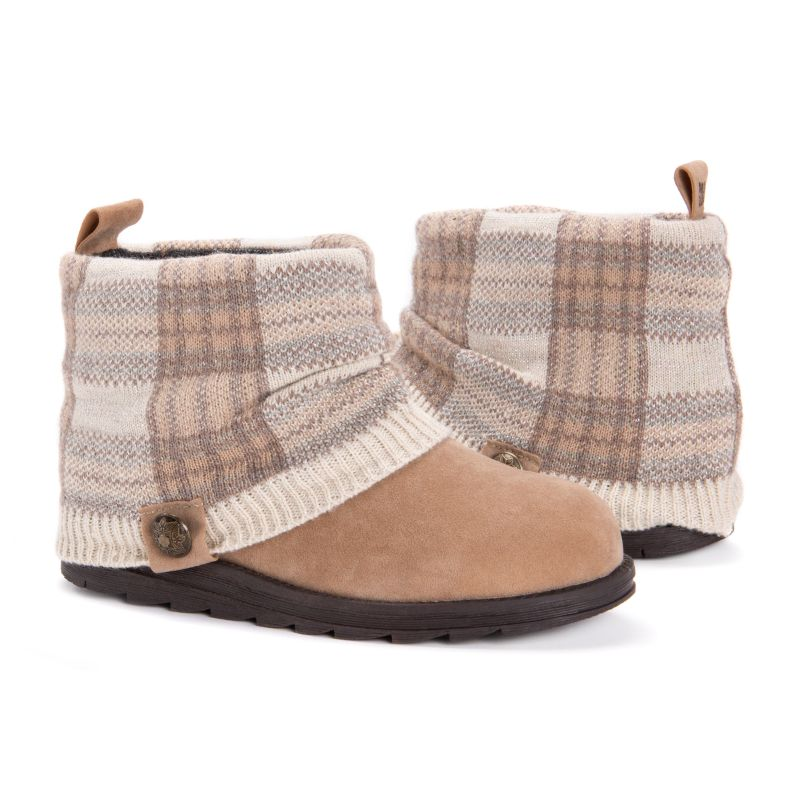 Women's Patti Boots by Muk Luks-Beige-10-Daily Steals
