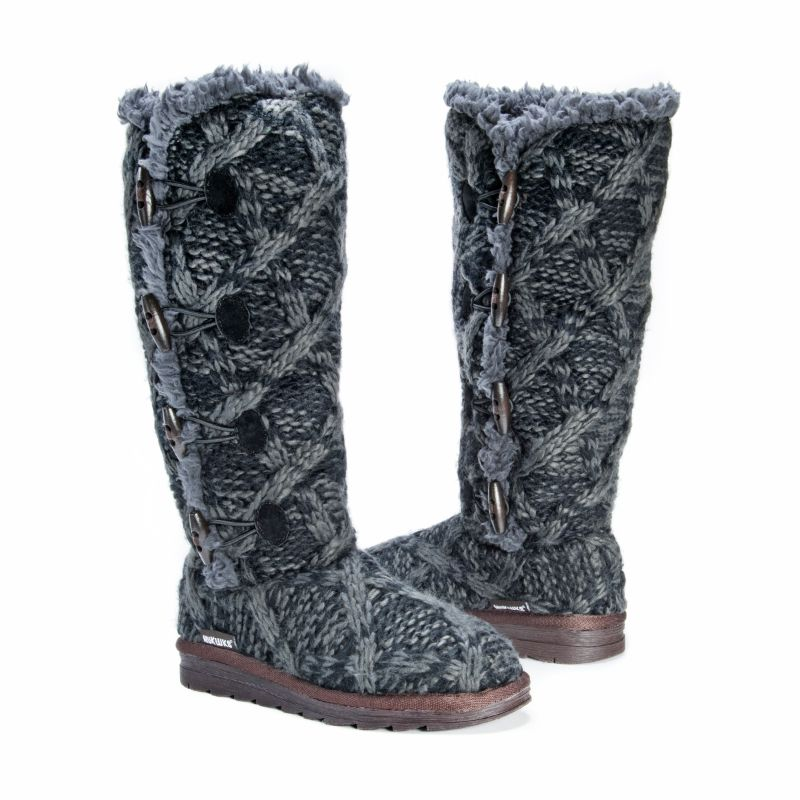 Women's Felicity Boots by Muk Luks-Black-6-Daily Steals
