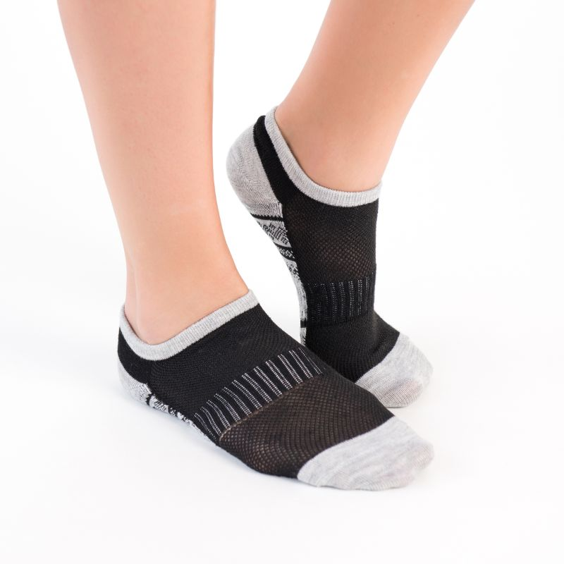 Women's No Show Compression Arch Socks by Muk Luks - 6 Pack-Daily Steals