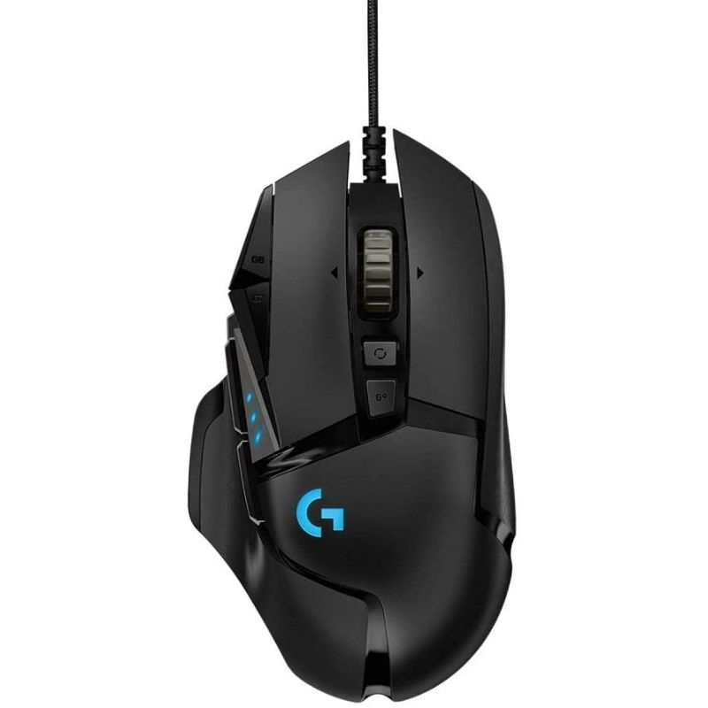 Logitech G502 SE Hero RGB Gaming Mouse w/ 11 Programmable Buttons-Daily Steals