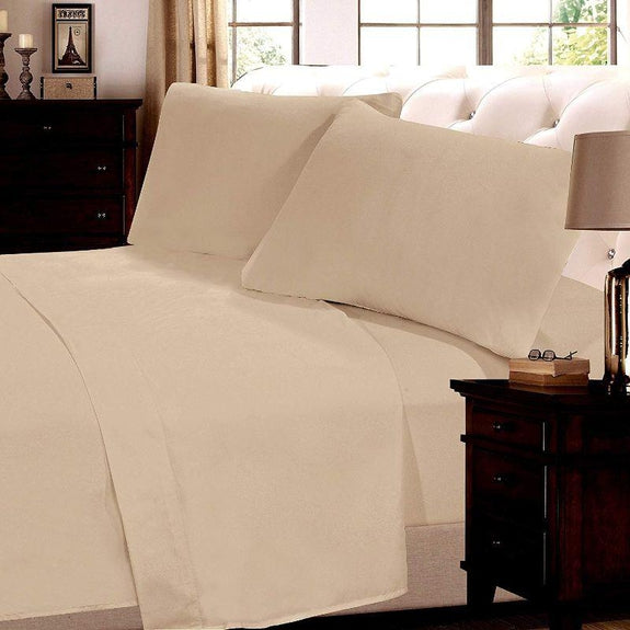 Six Piece Luxurious Sheet Set-Sand-Full-Daily Steals