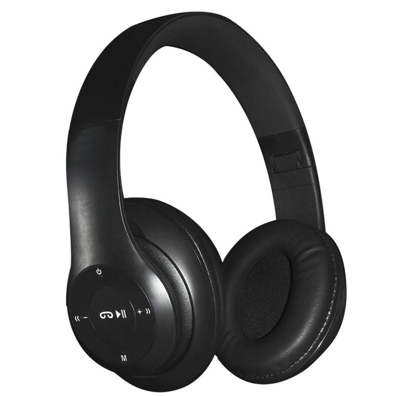 Casque audio sans fil Bluetooth Zummy-Black-Daily Steals