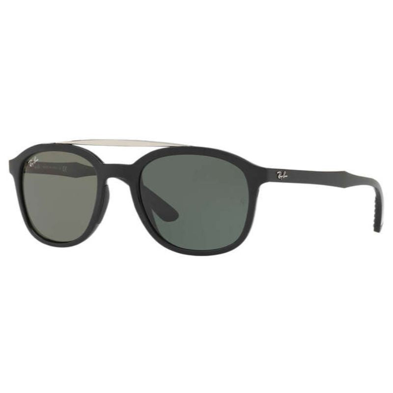 Ray-Ban RB4290-601/71-53 Black Nylon Green Classic Lens Sunglasses-Daily Steals