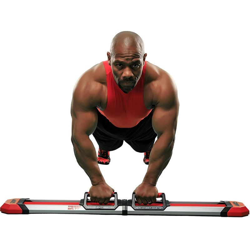 Iron Chest Master Push Up Machine - The Perfect Chest Workout-Daily Steals