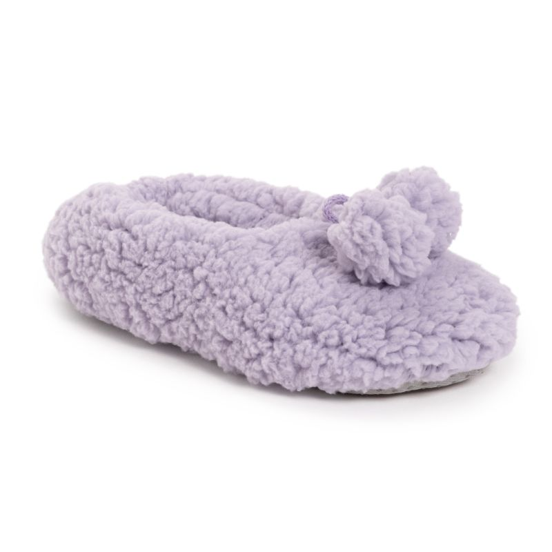 Muk Luks Women's Moisturized and Infused Ballerina Slipper Sock