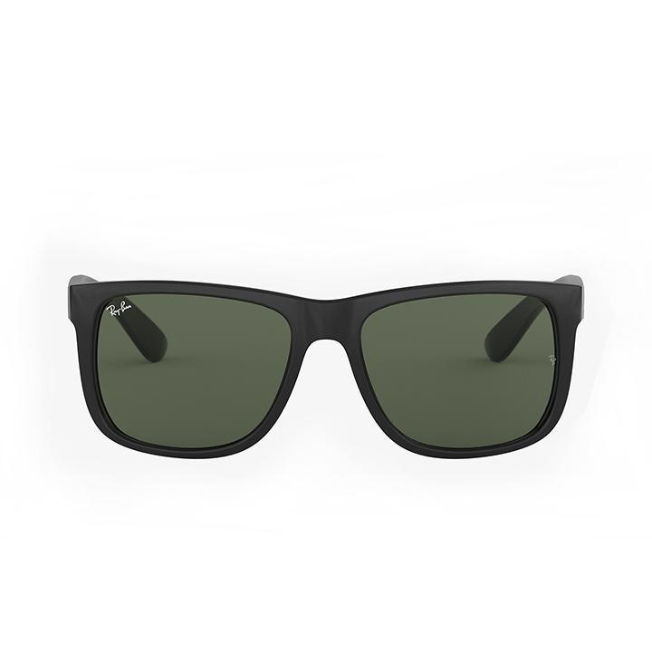 Ray-Ban RB4165 JUSTIN CLASSIC 55 Green & Black Sunglasses-Daily Steals