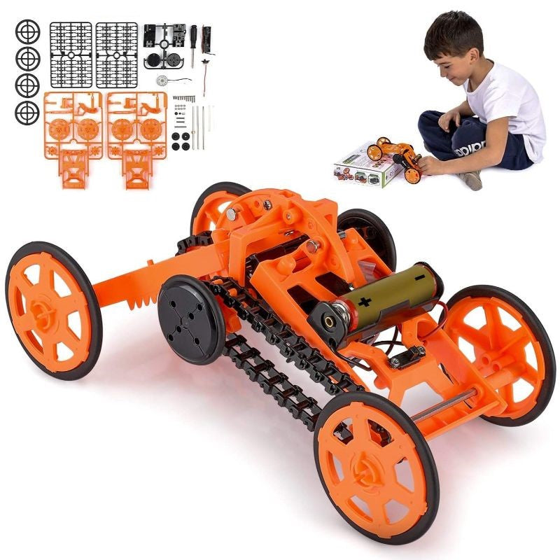 Engineering Stem DIY Car Assembly Gift Toy for Kids & Adults-Daily Steals