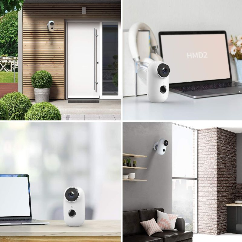 HeimVision Wireless Rechargeable Battery-Powered Cloud Security Camera-Daily Steals