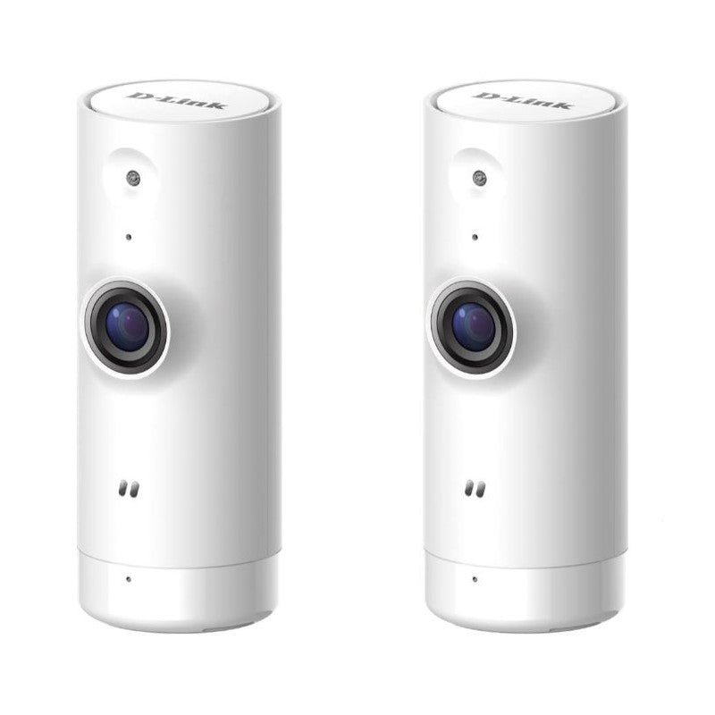 D-Link Dome HD Mini Indoor WiFi Security Cameras - 2 Pack