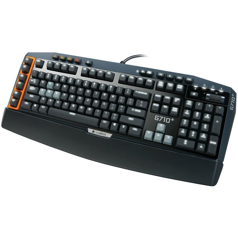 Logitech G710+ Mechanical Gaming Keyboard with Tactile High-Speed Keys