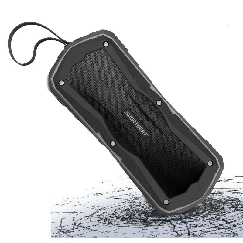 Wireless Bluetooth SportBeat Speakers with Carrying Strap-Daily Steals