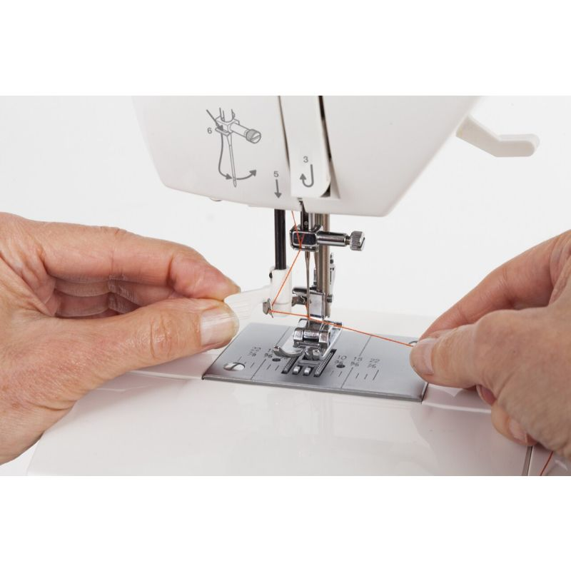 Singer Sewing Machine 5560 Fashion Mate, Built-in Needle Threader-Daily Steals