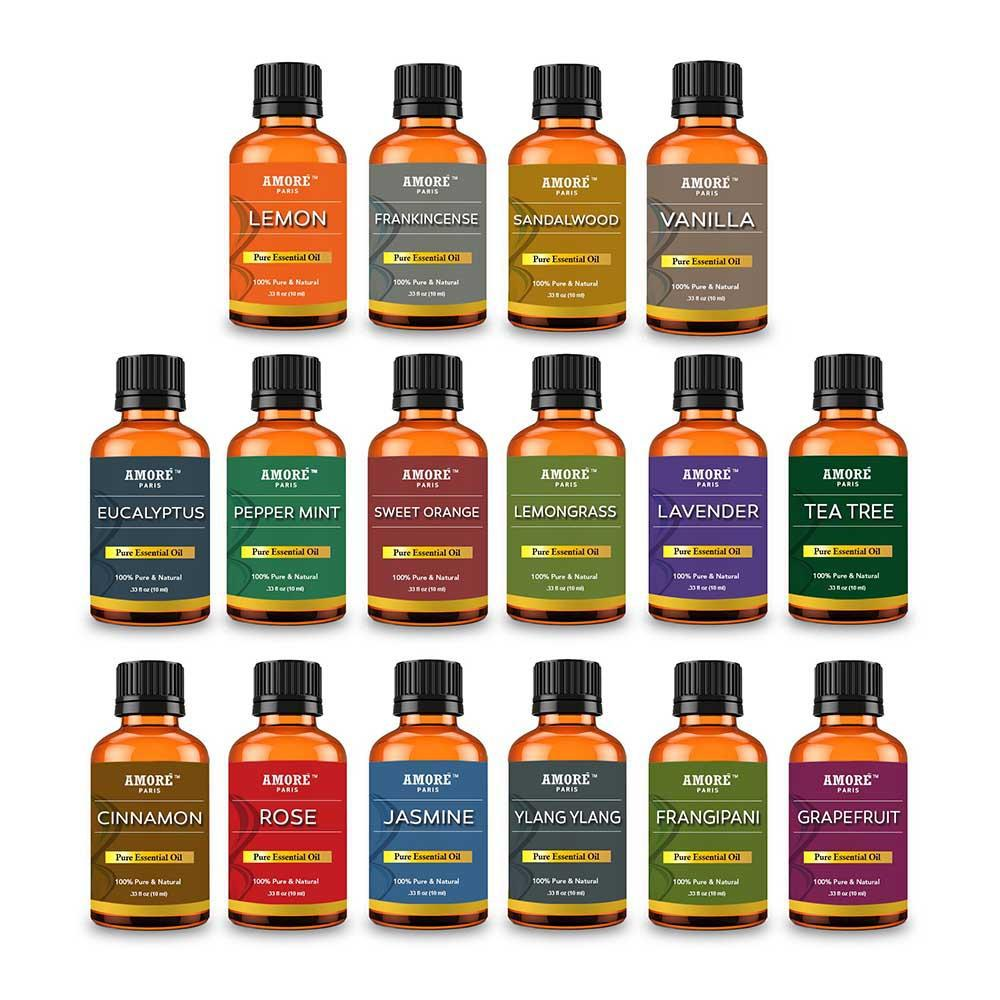 Aromatherapy 100% Pure High Grade Therapeutic Essential Oils - 16 Pieces-Daily Steals
