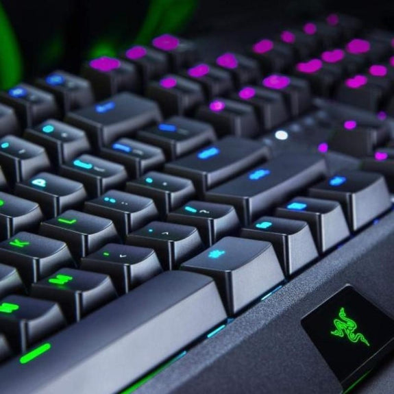 Razer BlackWidow Chroma Mechanical Gaming Keyboard, Green Switch-Daily Steals
