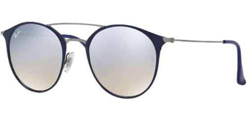 7ee706359f Daily Steals-Ray-Ban Vintage Round Sunglasses w  Silver Gradient Flash Lens  -