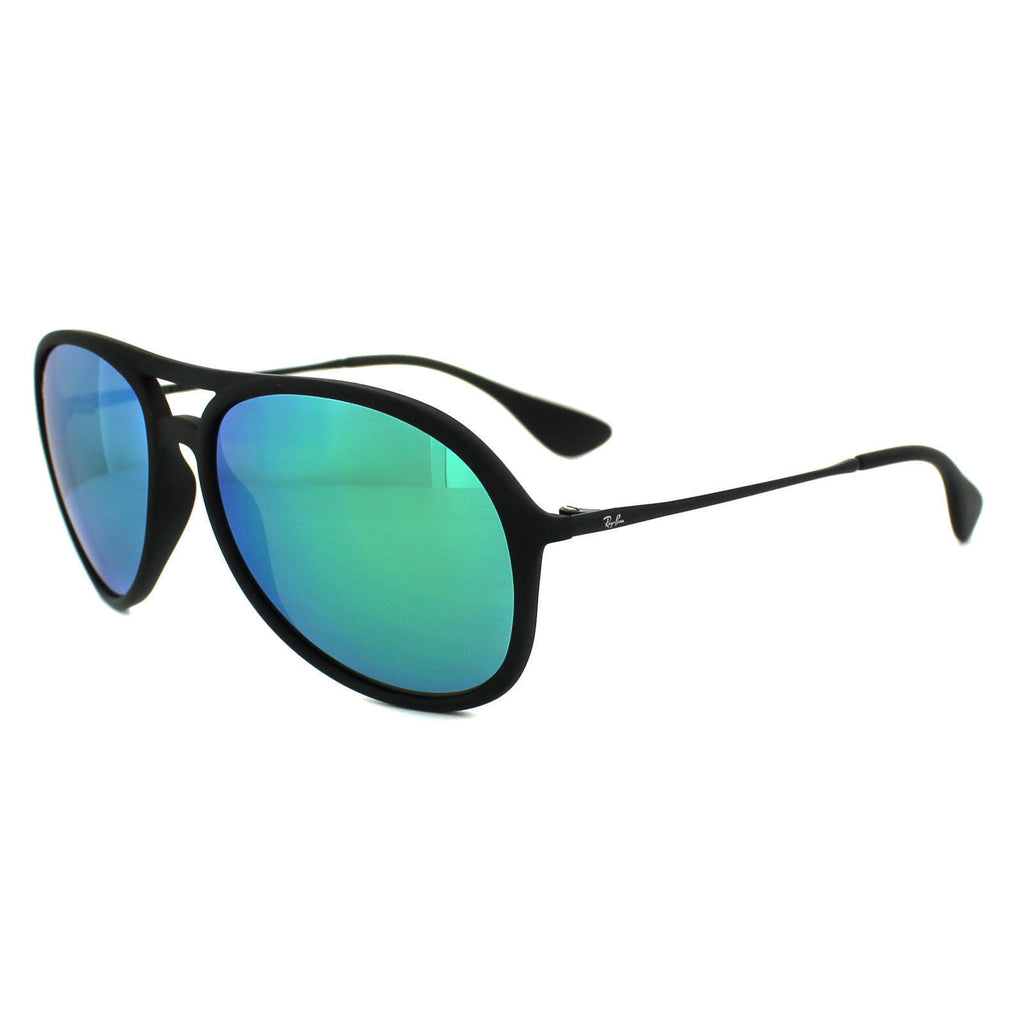 7f2ae408b Daily Steals-Ray-Ban Sunglasses Alex RB4201 622/3R 59MM Rubber Black Green