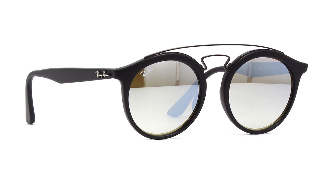 66c199d15 Daily Steals-Ray-Ban Gatsby I RB4256F 6253B8 52MM Matte Black Round  Sunglasses-