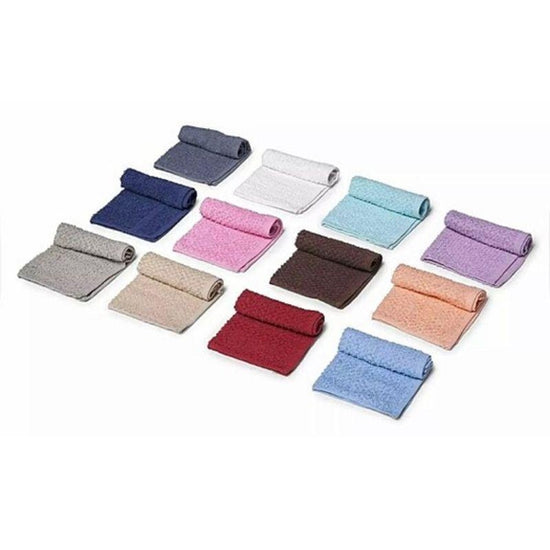 100/% Cotton Absorbent Kitchen Or Face Cloths Towel Set Assorted Colors