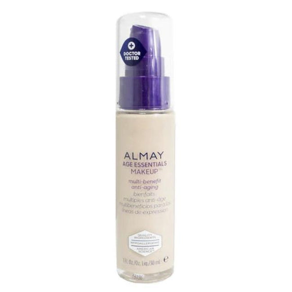 Almay Age Essentials Anti-Aging SPF 15 Foundation Makeup - 2 Pack-100 Fair-Daily Steals