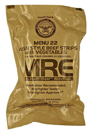 Box of 12 Government Issue Meals Ready to Eat (MREs)-Daily Steals