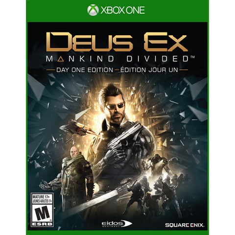 update alt-text with template Daily Steals-Deus Ex: Mankind Divided - Day One Edition - Xbox One-Hobby and Toys-